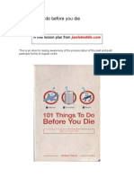 15 Things to Do Before You Die