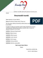 National Heart Institute Scientific Club Braunwald RoundsHD