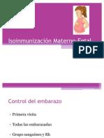 Isoinmunización Materno-Fetal2