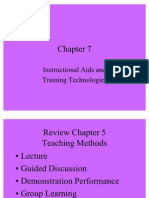 Chapter Instructional Aids and Training Technologies