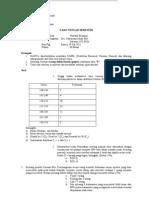 Soal Statistik SP-11