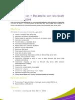Admin is Trac Ion y Desarrollo Con SQL Server 2008