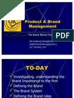 Pharmaceutical Brand Management