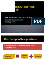 Accounting for Hire Purchase_ppt