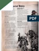 Codex - Sisters of Battle (5E)