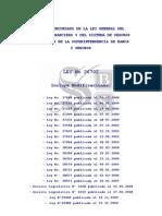 LEY N° 26702 - ley de banca