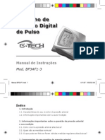 Medidor de Pressão GTech BP3AF1-3