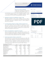 Edelweiss Report on Ispat