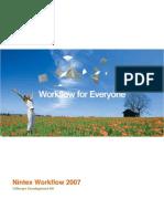 Nintex Workflow 2007 SDK 1.1