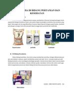 Ilmu Kimia Di Bidang Pertanian Dan Kesehatan