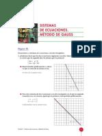 UNIDAD_01 Sistemas de Ecuaciones Método de Gauss
