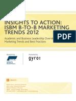 BtoB Marketing Trends 2012