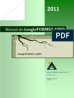 Manual de Google Formulario
