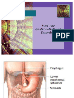 MNT for Gastrointestinal Disorders-REV 0708
