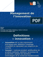Innovation 5 Management de l Innovation