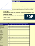IT Department Budget Template