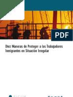 Diez maneras de proteger a los trabajadores inmigrantes en situación irregular