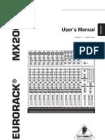MX2004A Manual