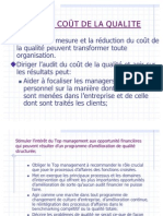 Audit Du Cout de La Qualite