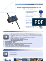 Wireless Sensor Data Acquisition device