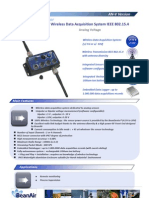 Wireless Sensor for Low Voltage Measurements