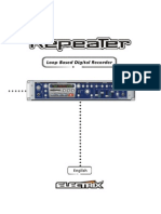 Electrix Repeater User Manual