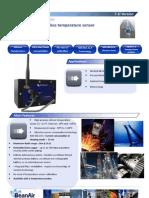 Wireless Sensor for Temperature Measurement