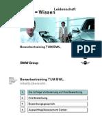 BMW-Bewerbertraining TUM
