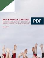 RSA Education - Not Enough Capital
