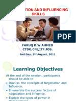 Negotiating Skills Presentation