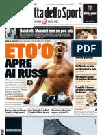 La Gazzetta Dello Sport 09.08.11