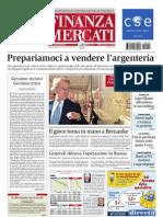 Finanza E Mercati 09.08.11