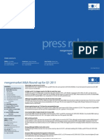 Press Release for Financial Advisers Q1 2011