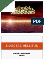 Diabetes Millitus by Mutajalla Khushab (1)