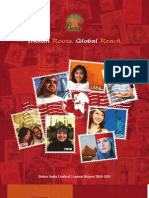 Dabur Annual Report 2010 11