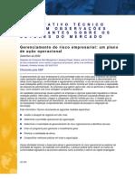 Gerenciamento do risco empresarial - um plano de ação operacional