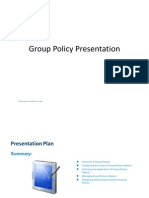 Group Policy Presentation