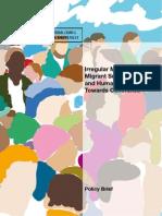 Irregular Migration, Human Smuggling and Human Rights - Policy Brief