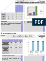 Data Center Performance Report