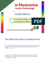 Encoders Decoders