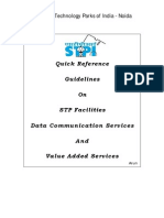 Quick Reference Guideline on STP Facilities