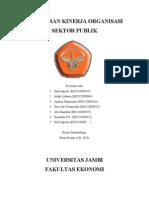 Pelaporan Kinerja Organisasi Sektor Publik