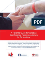 Stroke Patients Guide in Best Practices