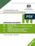 Building Reg Part M