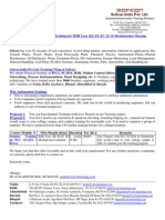 Summer Training