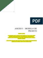 ANEXO I - Modelo de Projeto-BIT-Apoio Asincubdaoras