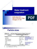Ch4 Water Treatment II Coag