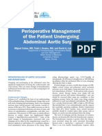 04 Perioperative Management of the Patient Undergoing Abdominal Aortic Surgery