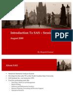 SAS Session 1