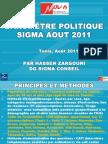 Baromètre politique Sigma Août 2011